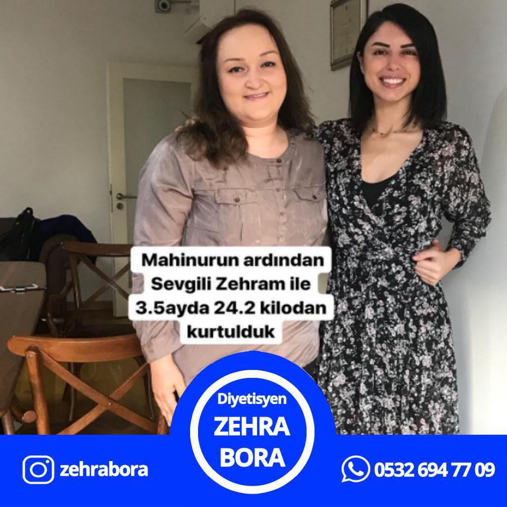 istanbul Diyetisyen, istanbul Online Diyet, istanbul Online Diyetisyen, Zehra Bora